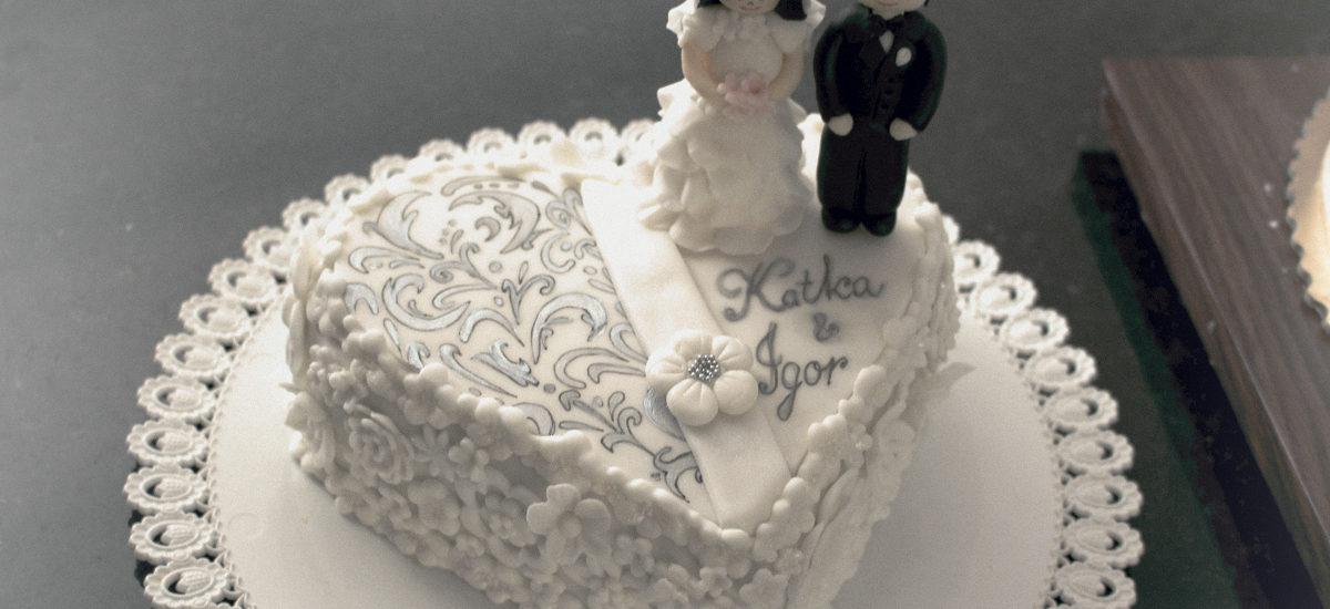 Svadobné Katka a Igor